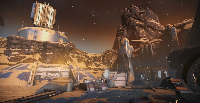 Corpus base in the Orb Vallis