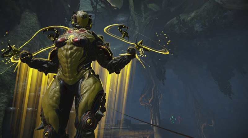 Hildryn, the shield-based attack helicopter Warframe
