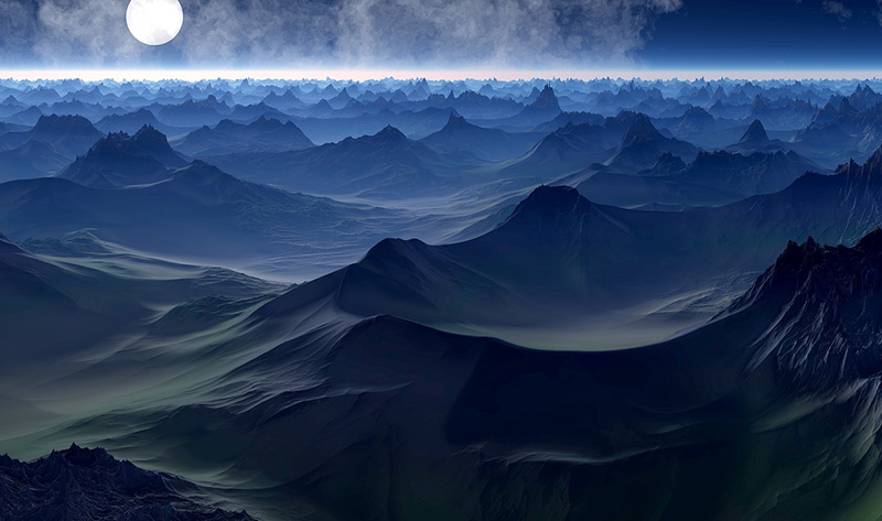 Planet Landscape Image by JAKO5D from Pixabay