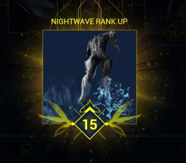 Level 15 with Nightwave Intermission