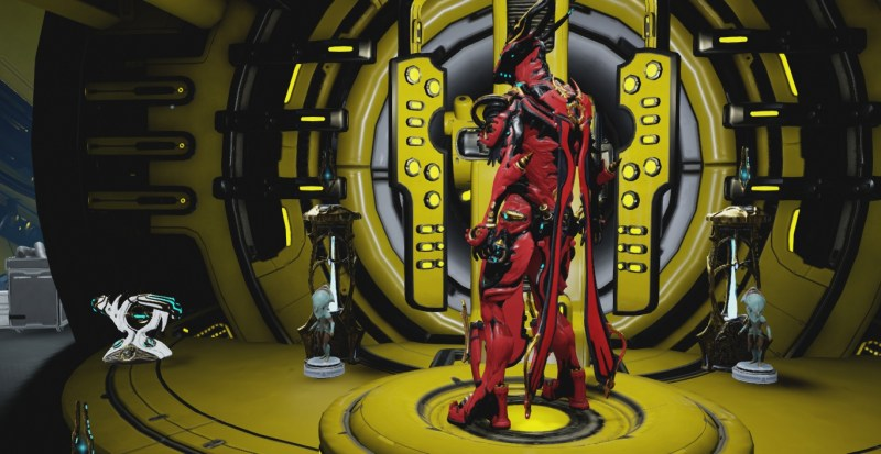 Floating armour on Oberon Prime