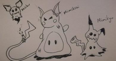 Mimikyu Family