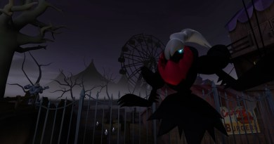 Darkrai, ready to haunt something. Probably nightmares.