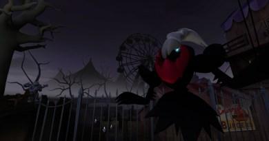 Darkrai, ready to haunt something. Probably nightmares.