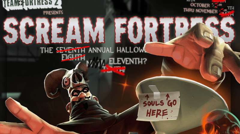 Scream Fortress XI