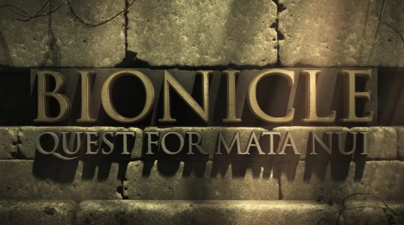 Bionicle: Quest for Mata Nui - Image from the game trailer on Youtube