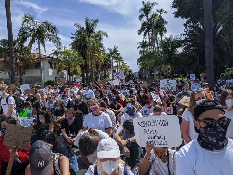 Santa Barbara protests