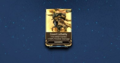 The Covert Lethality mod with its modern day stats