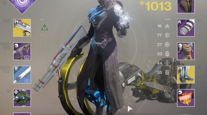 My Warlock, using the Dusk Mine shader.