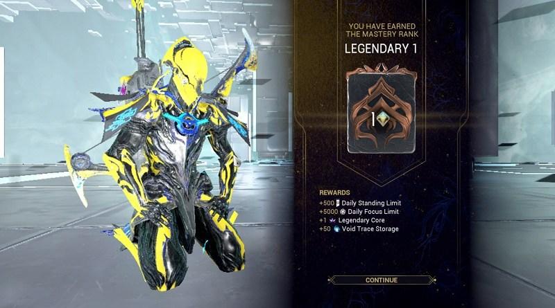 Legendary 1 Rank, a.k.a. Mastery Rank 31