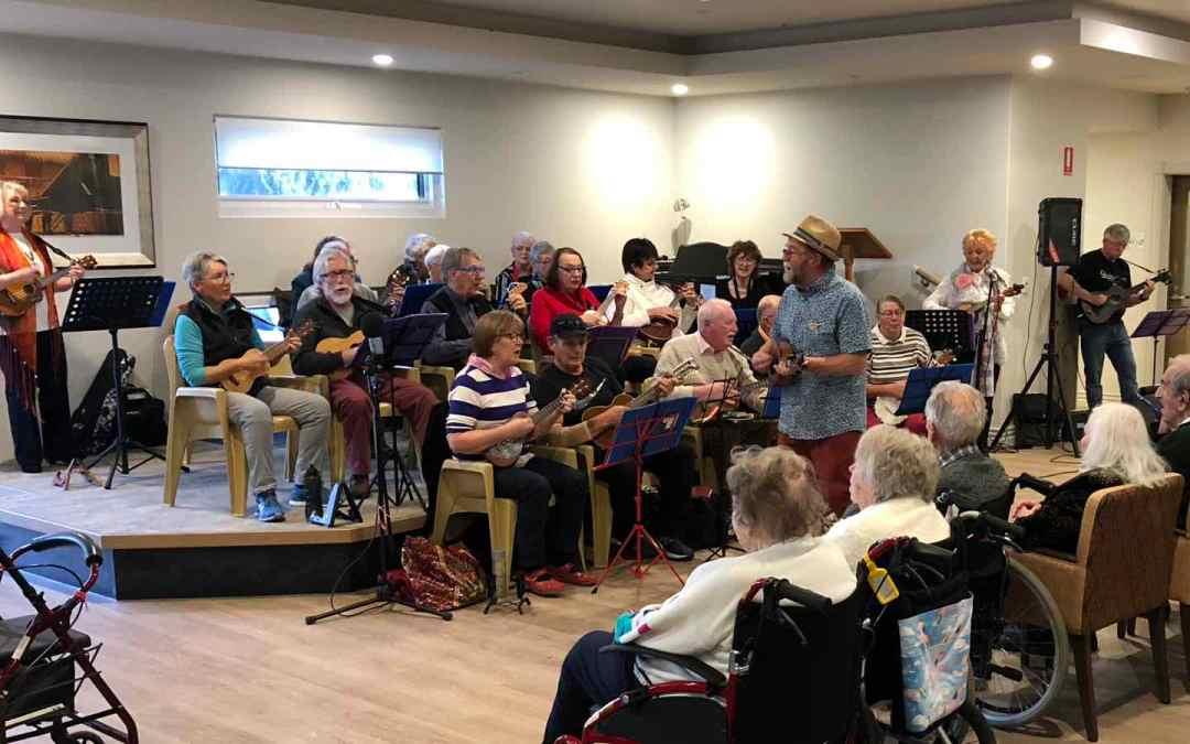 In Full Swing at Village Glen Aged Care