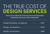 The True Cost of Design Services - Spunger