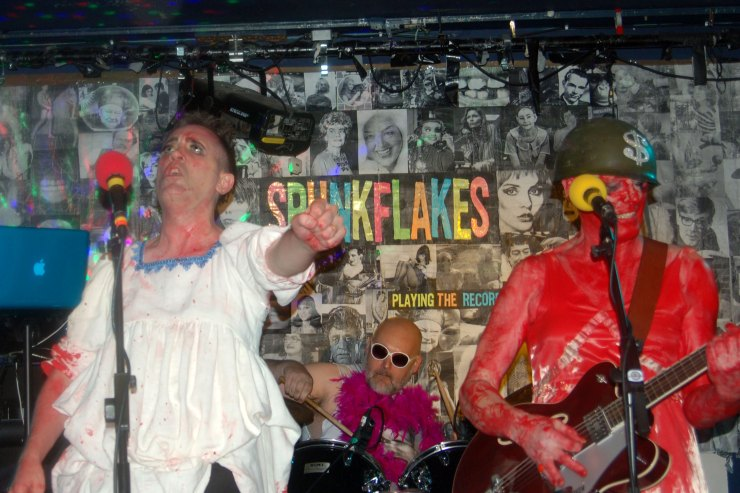 Spunkflakes Still..Born at The Water Rats, London.