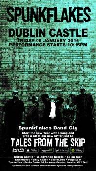 Spunkflakes - live at Dublin Castle, London