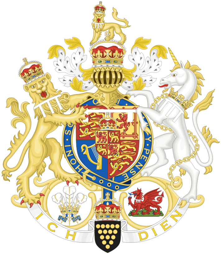 Coat of Arms of Prince Charles of Wales