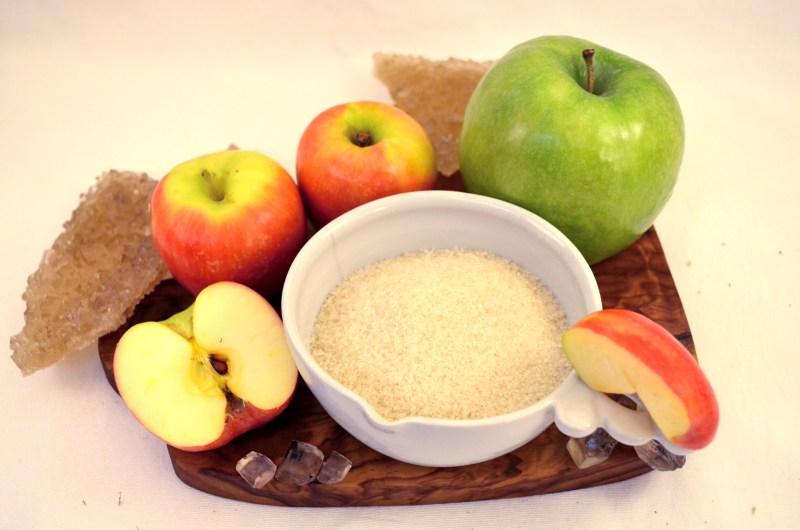 apple cotton candy sugar