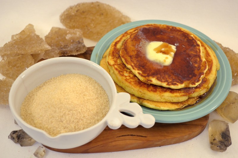 pancakes cotton candy sugar