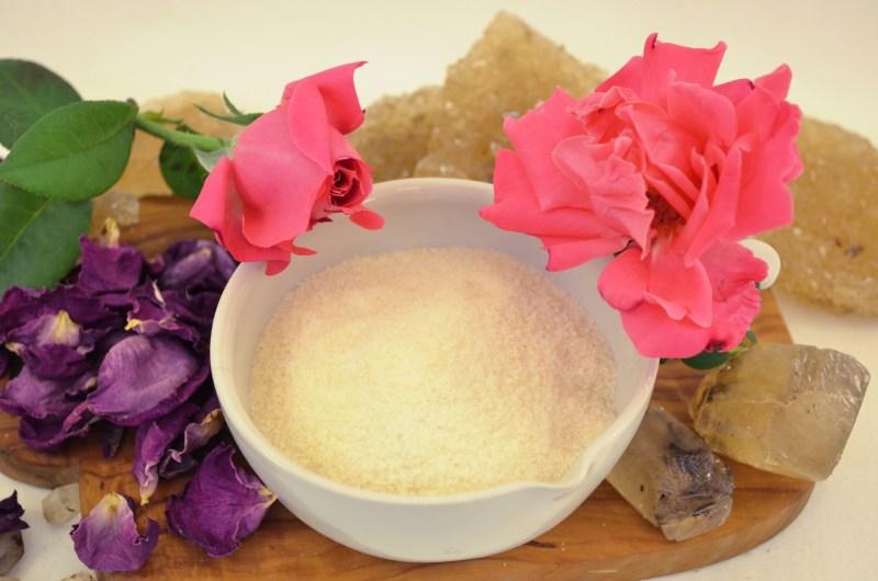 rose cotton candy sugar