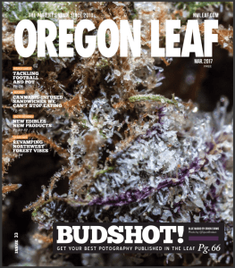 Cover Shot by Spurs Broken in Oregon Leaf