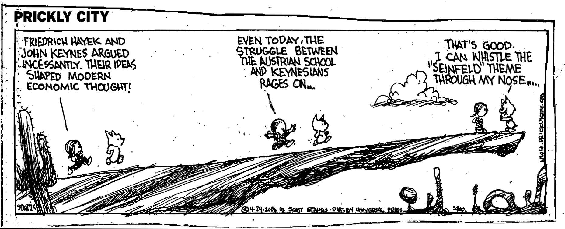 Keynes vs. Hayek/ Altruism vs. Self-Interest (Raymond