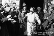 Gagarin dio la vuelta a la Tierra en poco más de una hora. Pero la noticia de aquel vuelo histórico recorrió el mundo en menos tiempo. © Alexandr Sergeev
