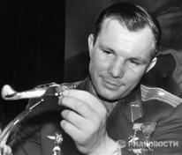 Miles de personas esperaron a Gagarin. Funcionarios de alto rango del gobierno y personalidades nacionales soñaron con reunirse con él. © RIA Novosti. Yuriy Abramochkin