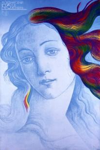 «Año Internacional De La Mujer » Afiche de 1975, realizado por Mijaíl H. Abbakumov.