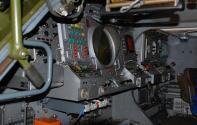 Consola de mando análoga en cada estación TELAR del sistema antiaéreo BUK M-1. Foto: vpk-news.ru.