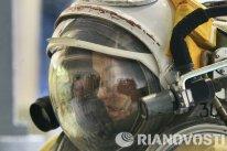 Antes de partir rumbo a la órbita, Serova aseguró estar muy orgullosa de su misión.
