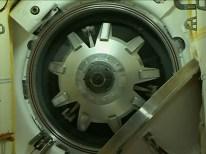 Soyuz TMA-14M Opening Hatch 02