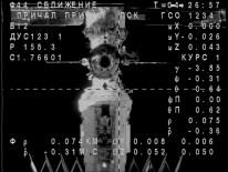 Soyuz TMA-16M en busca de la EEI. Foto: NASA TV.