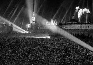 Celebracion de la Victoria en la Gran Guerra Patria de 1941-1945, Plaza Roja, Moscú 9 de mayo 1945. Foto: © RIA Novosti / Boris Kudoyarov.