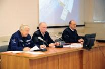 14 de Octubre de 2016: La Comisión Estatal decide sobre la utilización del cohete Soyuz-FG para que este sea colocado en la plataforma de lanzamiento. Foto: S.P. Korolev/RSC Energia.