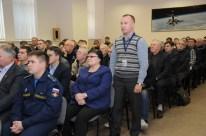 13 de Noviembre de 2016: La Comisión Estatal decide sobre la utilización del cohete Soyuz-FG para que este sea colocado en la plataforma de lanzamiento. Foto: S.P. Korolev/RSC Energia.