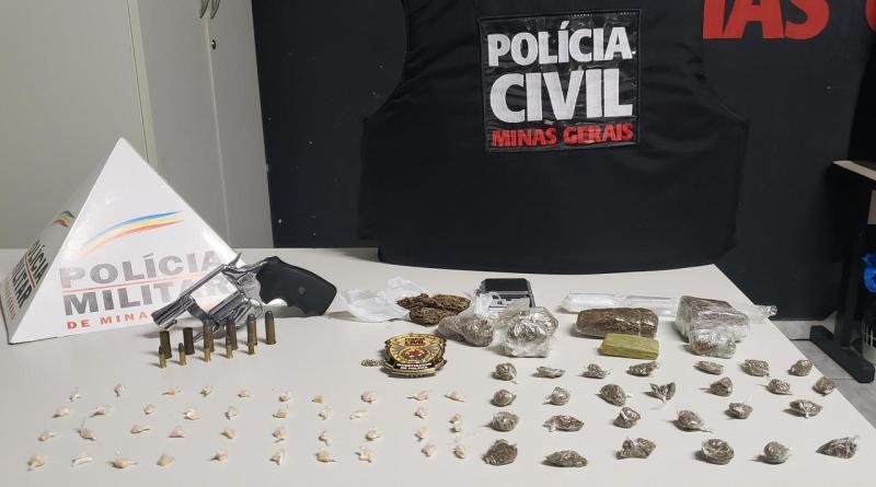 Polícia Militar em Operação conjunta com a Polícia Civil desmantela tráfico de drogas no bairro Itaipu