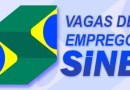SINE — Vagas Auxiliar de Linha de Produção – Auxiliar de Contabilidade – Analista Contábil