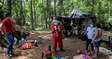 Sputnik Voz do Povo e Rede de Supermercados Líder encontra família vivendo em situação de miséria em João Pinheiro