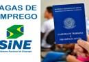 SINE de João Pinheiro está com 37 novas vagas de emprego disponíveis