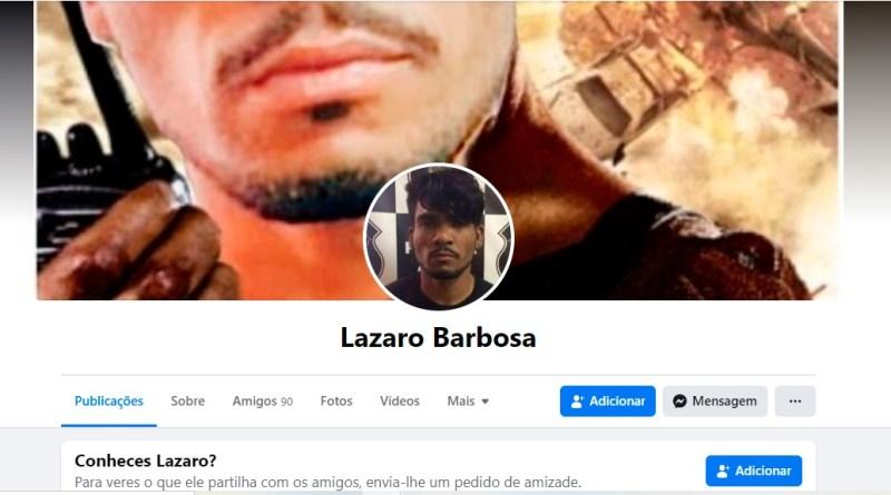 Simpatizantes criam contas fakes de Lázaro Barbosa no Facebook, 346 perfis ativos; foragido também está na Wikipédia