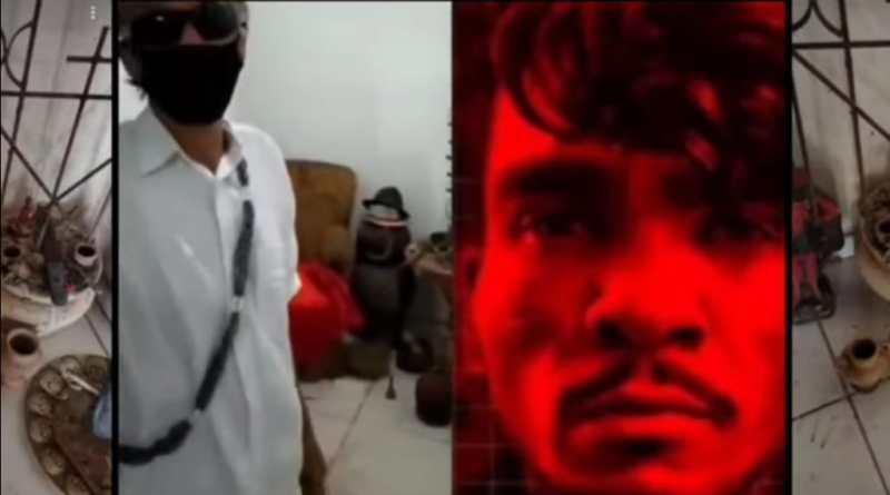 Pai de Santo, acusa polícia de invadir terreiro e forja imagens aos crimes praticados por Lázaro