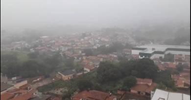 Chuvas intensas devem atingir João Pinheiro e outras 301 cidades mineiras neste sábado