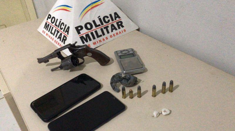 Casal agride militares e são presos acusados de envolvimento com tráfico de drogas e porte ilegal de arma de fogo