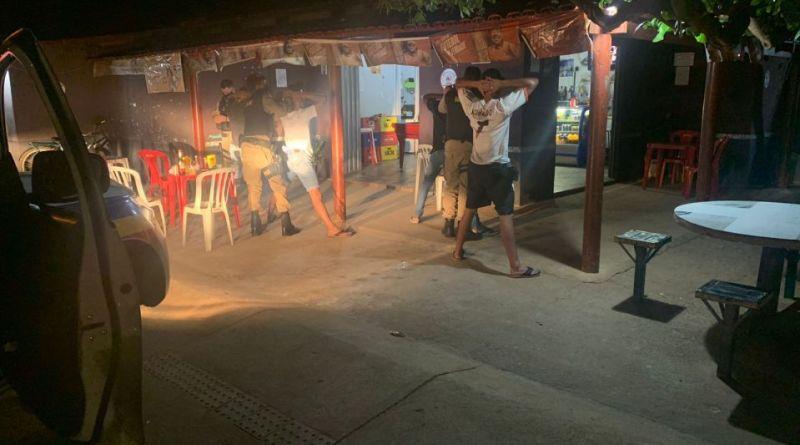 Polícia Militar realiza operação de combate a homicídios em Brasilândia de Minas