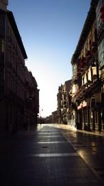 morning. Leon, Spain