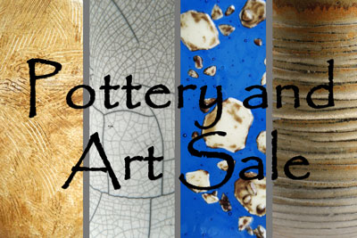 Pottery & Art Sale!! This Friday & Saturday
