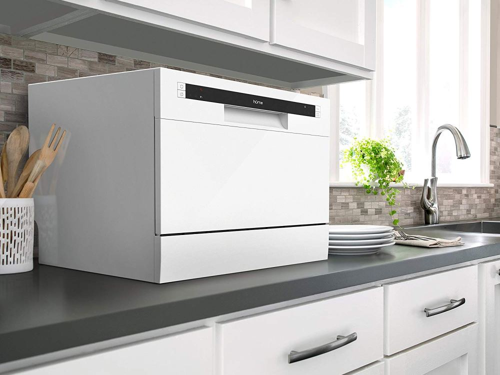 these portable dishwashers will make the kitchen your new favorite room