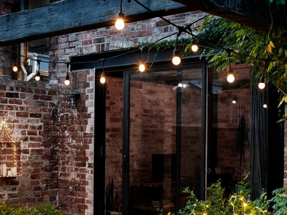 upgrade your patio with outdoor string lights