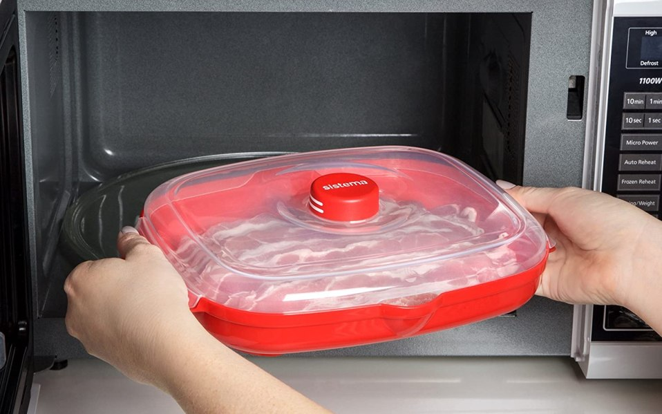 the best microwaveable bacon trays to