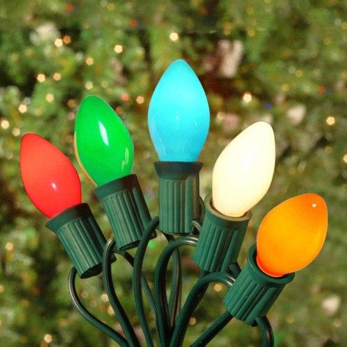 best outdoor christmas lights - SkrLights Vintage Christmas String Lights