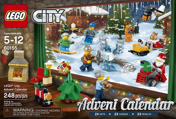 best Advent Calendars for Kids - LEGO City Advent Calendar Building Kit